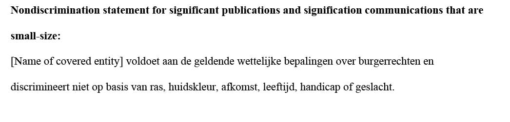 sample ce statement dutch