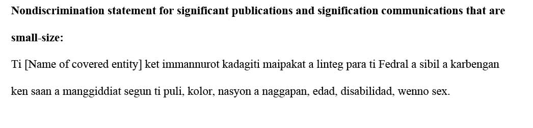 sample ce statement ilocano
